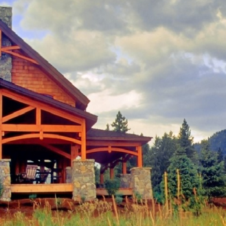 Beautiful Custom Timberframe