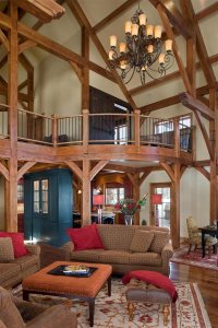 Gorgeous Timberframe Interior